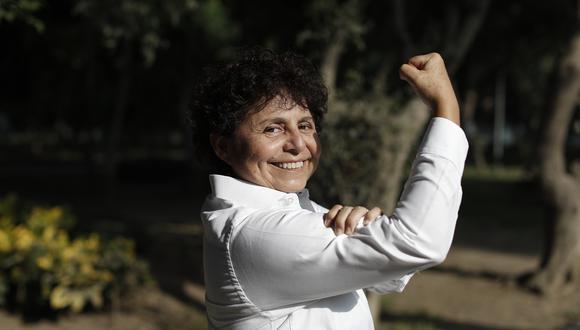 Susel Paredes postulará al Congreso con el número 1 del Partido Morado. (Foto: César Campos/El Comercio).