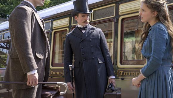 """""""Enola Holmes"""": Millie Bobby Brown y Henry Cavill regresan en la secuela de la película de Netflix. (Foto: Alex Bailey/Netflix vía AP)"""