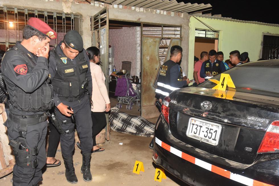 Matanza. Dos sujetos en motocicleta atacaron sin piedad a las víctimas en la localidad de Huanchaco, en Trujillo.