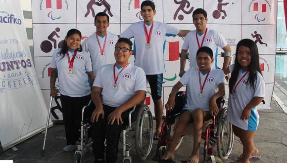 la selección peruana de para natación van a dejar en alto el nombre del Perú en los Parapanamericanos. (Foto: Asociación Nacional Paralímpica del Perú)