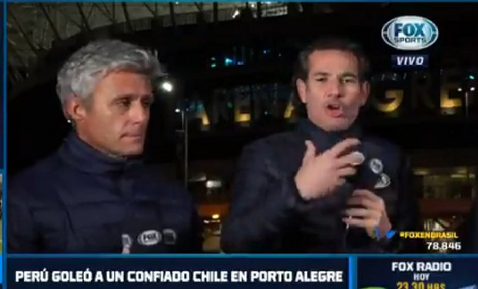 Periodistas chilenos analizaron el Perú vs Chile. (Foto: Fox Sports Chile)