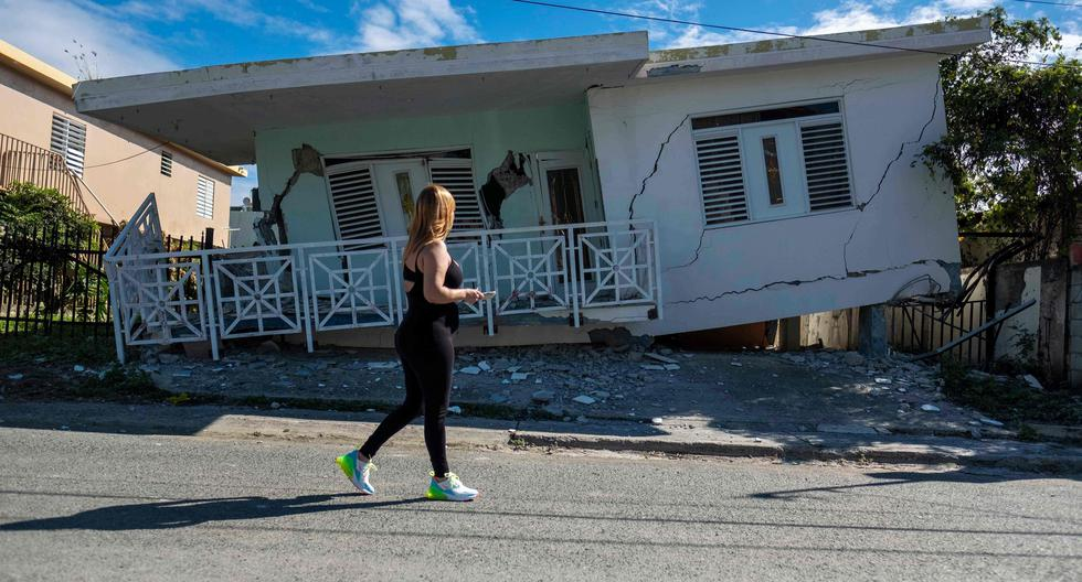 Trump aprueba declaración de desastre en Puerto Rico tras terremotos. (AFP)