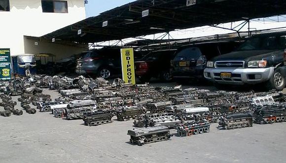 Policía mostró resultados de operativos (Sofía Pichihua)