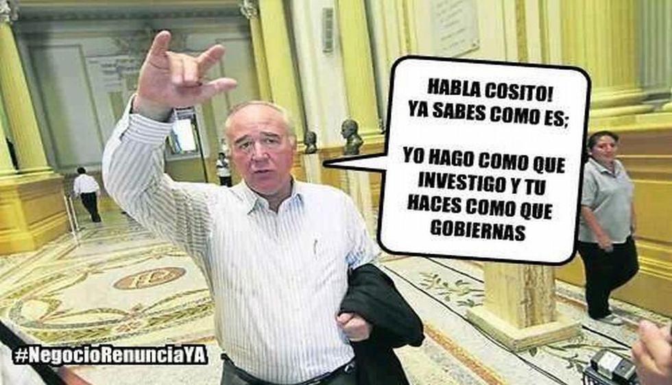 Ya existe una campaña mediática para que el popular 'Vitocho' renuncie a la presidencia de la comisión del caso López Meneses. (Twitter)