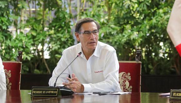 Martín Vizcarra se pronunciará en el octavo día del estado de emergencia (Foto: difusión)