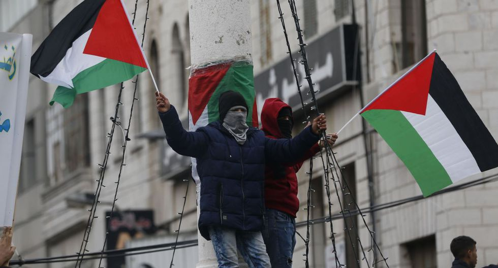 """Abás dará un discurso en una reunión extraordinaria del Consejo de Seguridad, """"que servirá como referencia para un futuro proceso de paz"""", adelantó el asesor presidencial, Majdi al Jalidi, a la radio Voz de Palestina. (AFP)."""