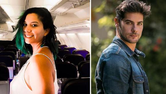Mayra Couto acusó a Andrés Wiese de haberla acosado sexualmente. (Composición)