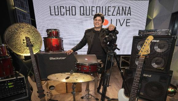 """Lucho Quequezana anuncia que espectáculos """"Live 2"""" tendrá transmisiones todo el año. (Foto: Facebook oficial)"""