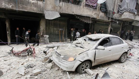 Grave crisis humanitaria siria. (Reuters)