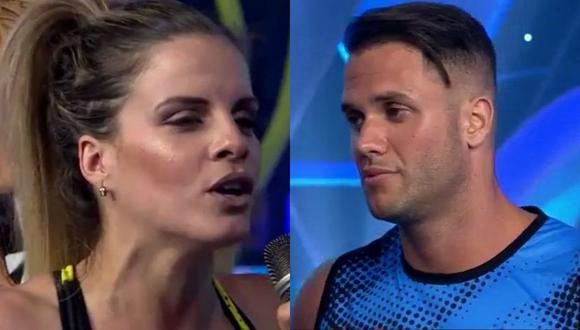 Alejandra y Fabio en dimes y diretes durante emisión de 'EEG'. (Twitter: EEG)