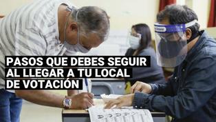 ONPE: Sepa los pasos que debes seguir al llegar a tu local de votación