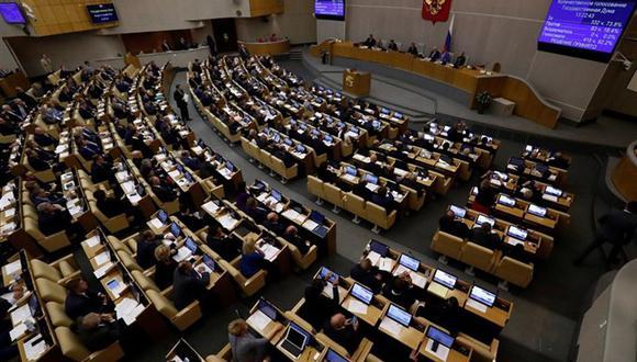 """Legisladores del Parlamento ruso consideran que situación de Venezuela es un """"golpe de Estado"""". (Foto: Reuters)"""