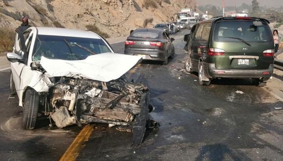 Accidente ocurrió a la altura del kilómetro 43 de la carretera Central, distrito de Matucana, provincia de Huarochirí, región Lima.