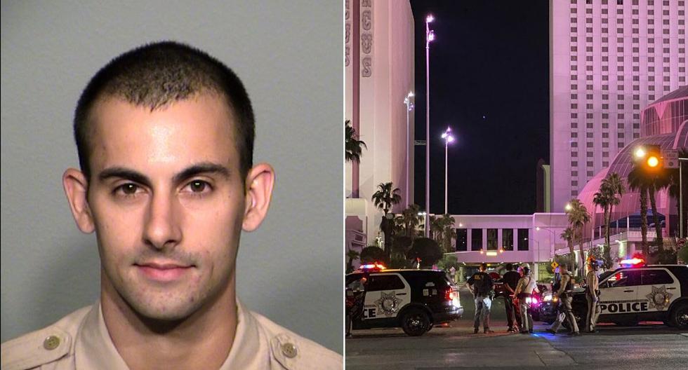 El agente Shay Mikalonis, de 29 años, recibió un disparo el 1 de junio durante una protesta por la muerte de Floyd a manos de la policía. (AP/Christopher DeVargas).