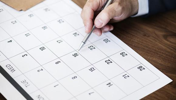 Es importante que sepas cuántos días feriados trae el año 2021. (Foto: Freepik)