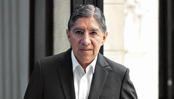 Avelino Guillén. Ex fiscal superior señala que testimonio de brasileño es clave. (GEC)