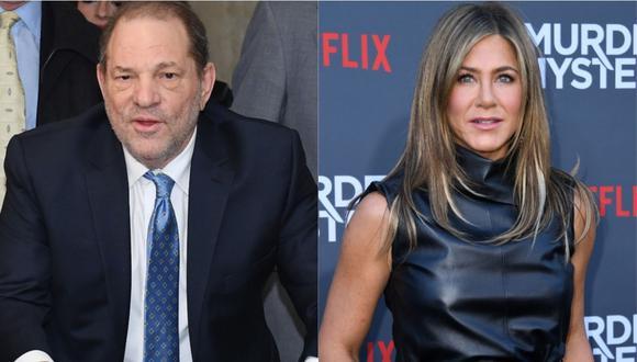 "Harvey Weinstein dijo que ""alguien debería matar a Jennifer Aniston"". (Foto: AFP)"
