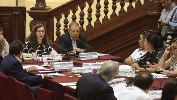 La Comisión de Constitución archivó proyecto de ley de reforma política que planteaba que el Poder Judicial a través de la Corte Suprema sea el encargado de levantar la inmunidad parlamentaria.(Foto: GEC)