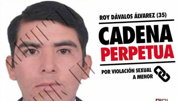 Roy Dávalos Álvarez abusó sexualmente de pequeña aprovechando que estaba sola en casa. (Poder Judicial)