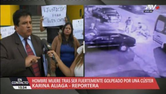 Los deudos denunciaron que el SOAT del vehículo no cubrió los gastos que demandaron la hospitalización de Luis Ortiz Gil y  el sepelio. (ATV+)