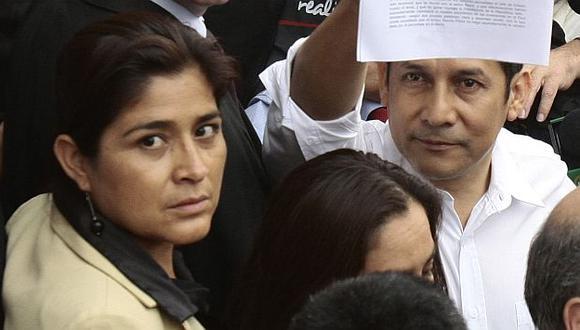 Ollanta Humala y Nancy Obregón fueron muy cercanos. (Perú21)