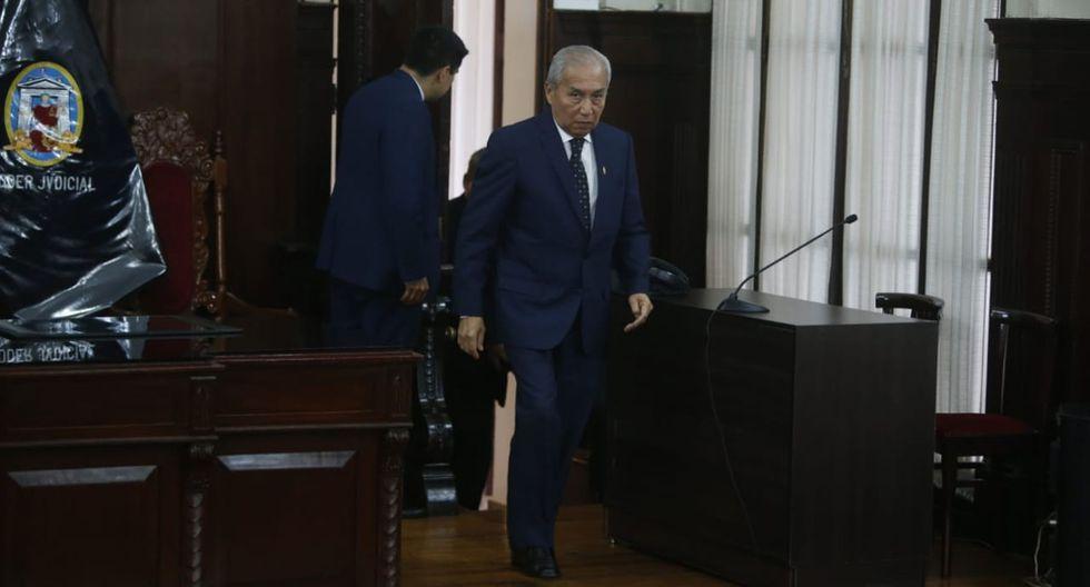 El Poder Judicial abrió un proceso penal contra el exfiscal de la Nación Pedro Chávarry por el delito de encubrimiento real. (Foto: GEC)