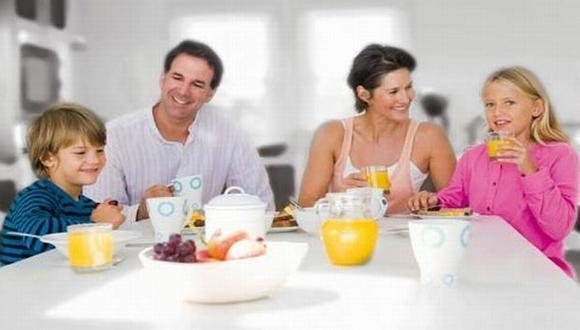 Desayunar es un hábito que no debe obviarse. (Internet)