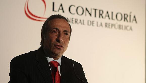 El contralor Fuad Khoury dio a conocer la información. (USI)
