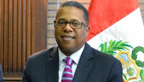 Brian A. Nichols, el embajador de los Estados Unidos en Perú a favor de fortalecer la UIF. (USI)