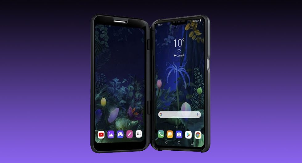 ¿Qué estará preparando LG? Compañía coreana lanzará un nuevo dispositivo con dos pantallas en el IFA 2019. (Foto: LG)