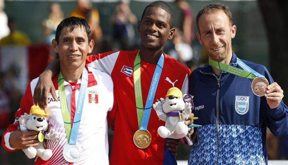 Raúl Pacheco ganó la medalla de plata en maratón masculina de los Juegos Panamericanos 2015. (Reuters)