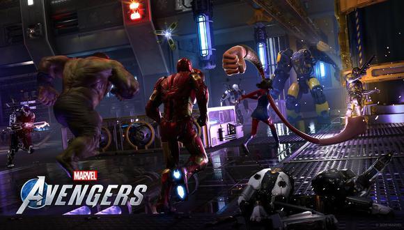 Marvel's Avengers saldrá a la venta el próximo 4 de setiembre.