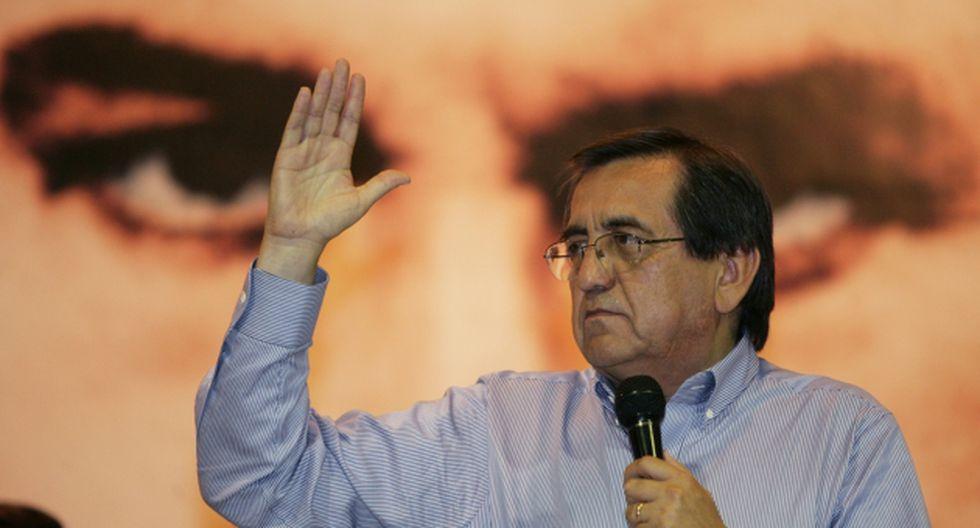 Hace deslinde. Del Castillo dice que Gobierno busca desprestigiar a su partido con ayuda de la DINI. (David Vexelman)