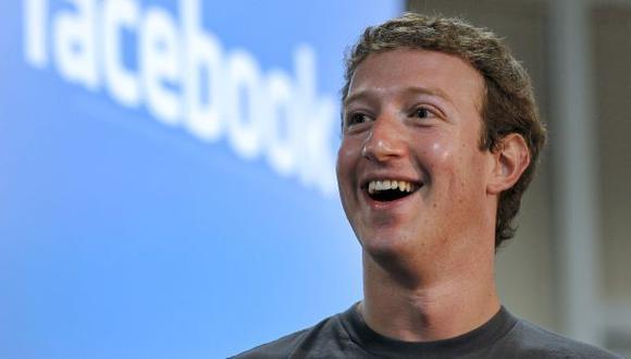 Zuckerberg, fundador de Facebook, lidera ránking de CEOs mejores pagados del mundo. (Bloomberg)