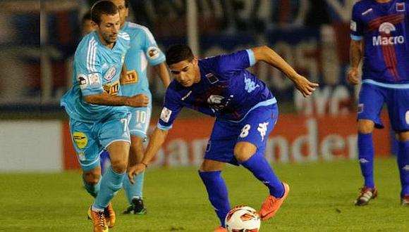 Leguizamón le anotó a Cristal en la Libertadores de este año. (USI)