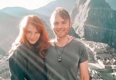 Bryce Dallas Howard recuerda viaje a Machu Picchu y envía tierno mensaje a su esposo Seth Gabel