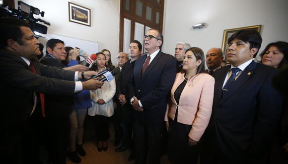 Pedro Olaechea postula a la presidencia del Congreso. (Foto: GEC)