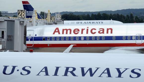 Fusión entre US Airways y American Airlines se anunció en febrero. (AP)