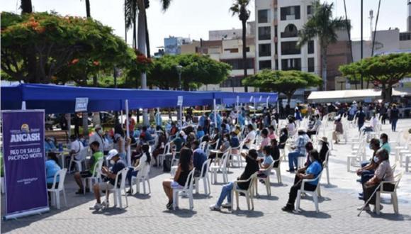 Chimbote: la campaña se desarrolló con un trabajo articulado con la Policía Nacional del Perú, Aproferrol y Municipalidad Provincial del Santa. (Foto: Difusión)