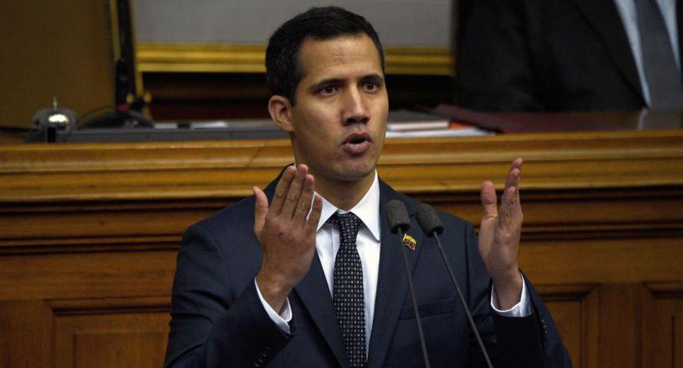 """El portavoz chavista aseguró que la detención de Juan Guaidó fue un acto """"unilateral"""". (AFP)."""