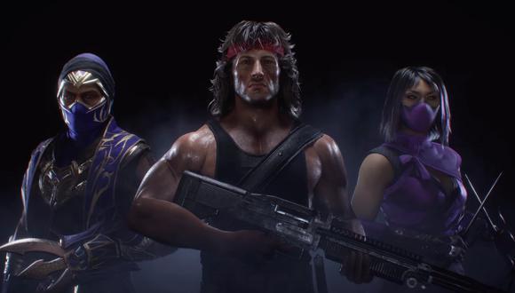 Mortal Kombat 11 sumará a Rambo, Mileena y Rain. (Difusión)