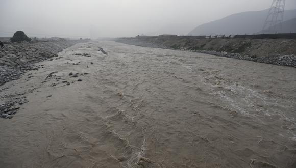Reportandisminución de caudales de los ríos Rímac y Chillón. (Foto: GEC)