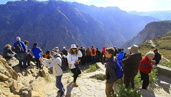 Arequipa: Turistas extranjeros que quedaron varados en valle del Colca por el estado de emergencia podrán retornar a sus países. (Foro: archivo)