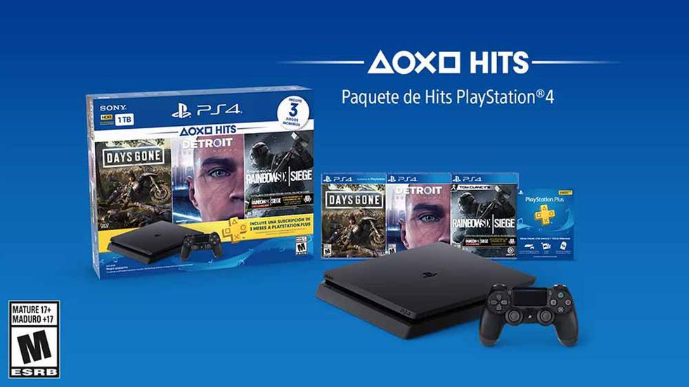 El nuevo PlayStation Hits Bundle 5 ya se encuentra disponible en diferentes tiendas por departamento.