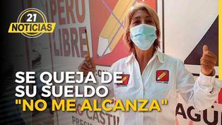 Congresista de Perú Libre se queja de su sueldo