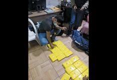 Ayacucho: PNP halla 20 paquetes de droga en maletera de vehículo