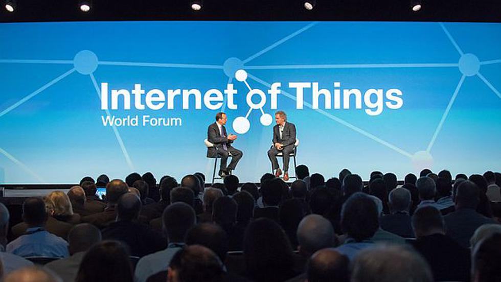 Internet of Things World Forum de Cisco reunió a los líderes de la industria. (iotwf.com)