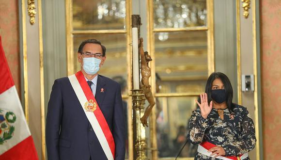 La ministra de Justicia y Derechos Humanos asumió el cargo el último miércoles. (Foto: Presidencia de la República)