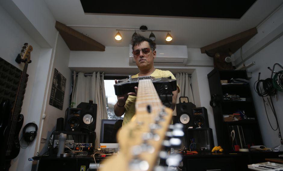 Pelo Madueño presenta álbum triple 'XXX'. (Foto: Mario Zapata).