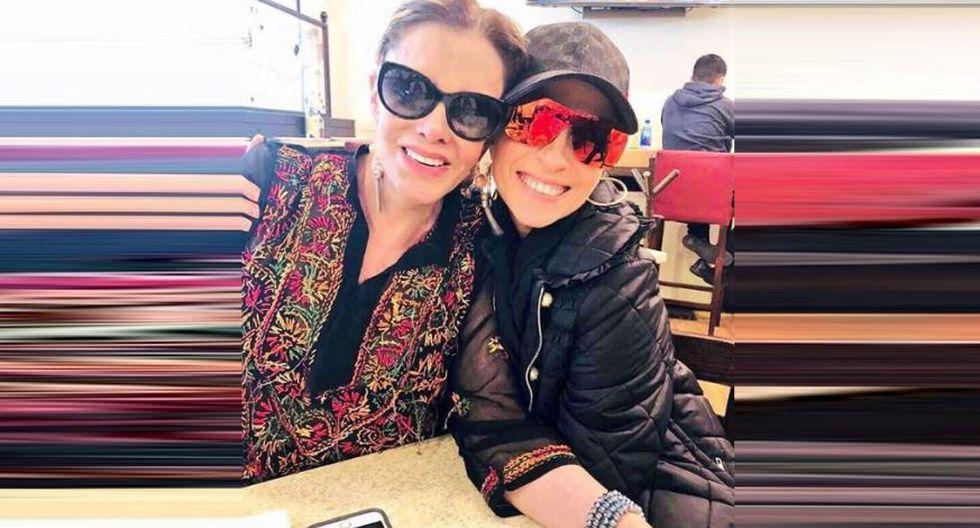 Lucía Méndez y Yuri olvidaron rencores y se reconcialiaron tras haber haber protagonizado una discusión en público en 2010. (Instagram/@luciamendezof)